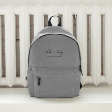 Load image into Gallery viewer, Valor & Savvy // Embroidered Backpack