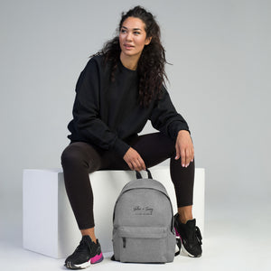 Valor & Savvy // Embroidered Backpack