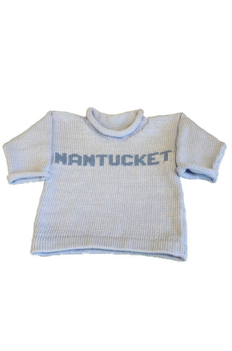 Baby Blue Nantucket Sweater
