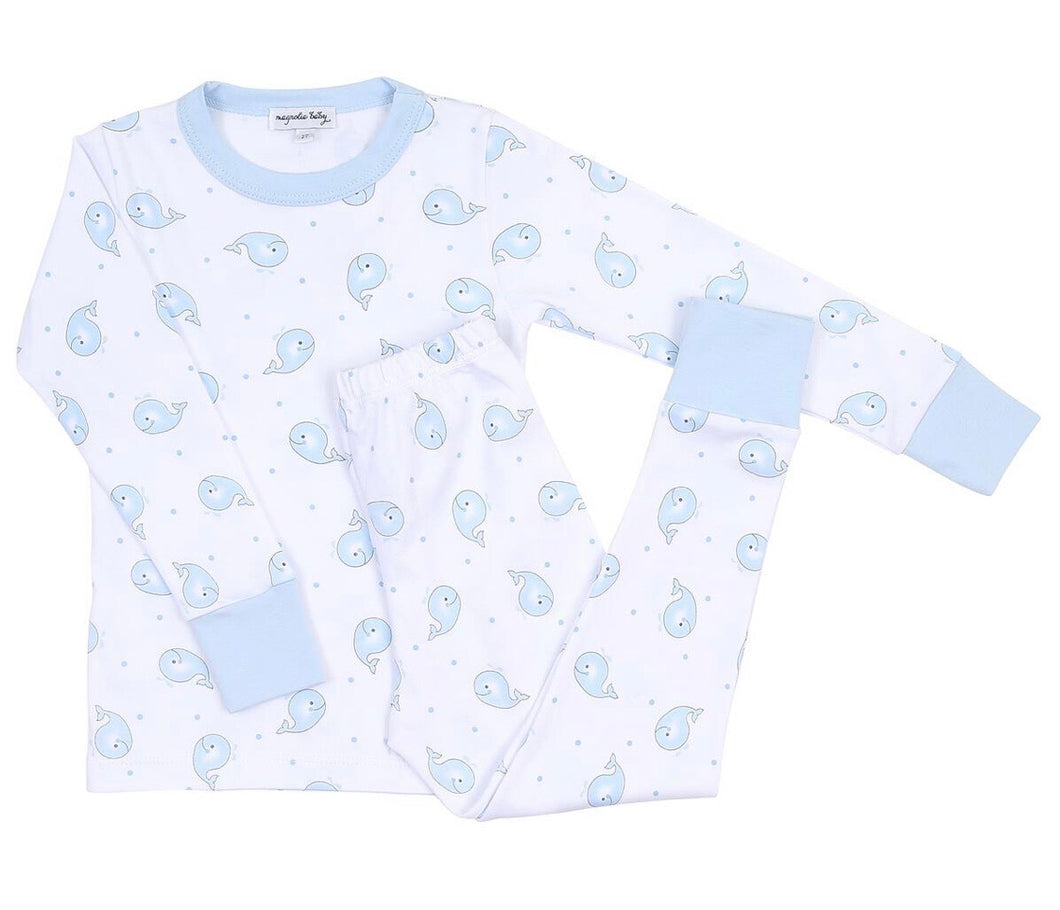 Blue whale Pajamas
