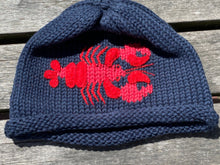 Load image into Gallery viewer, Knit Whale & Lobster Hats
