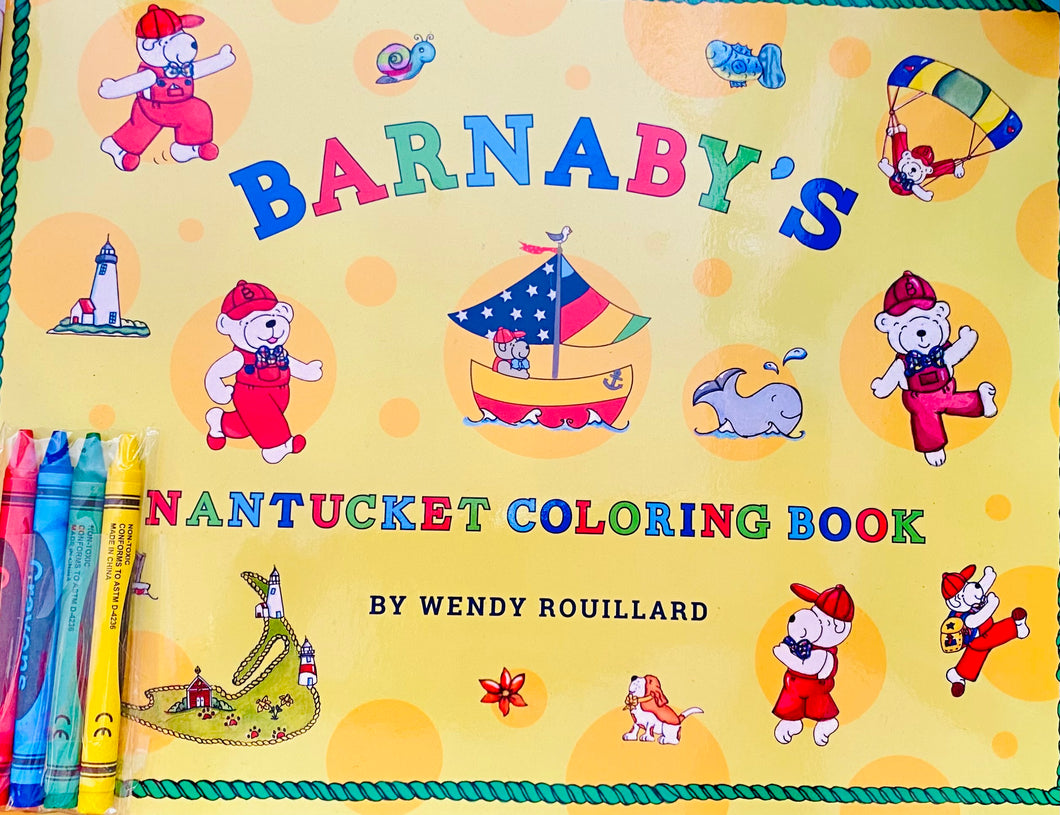 Barnaby's Nantucket Coloring Book