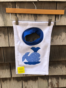 Whale And Lobster Bibs