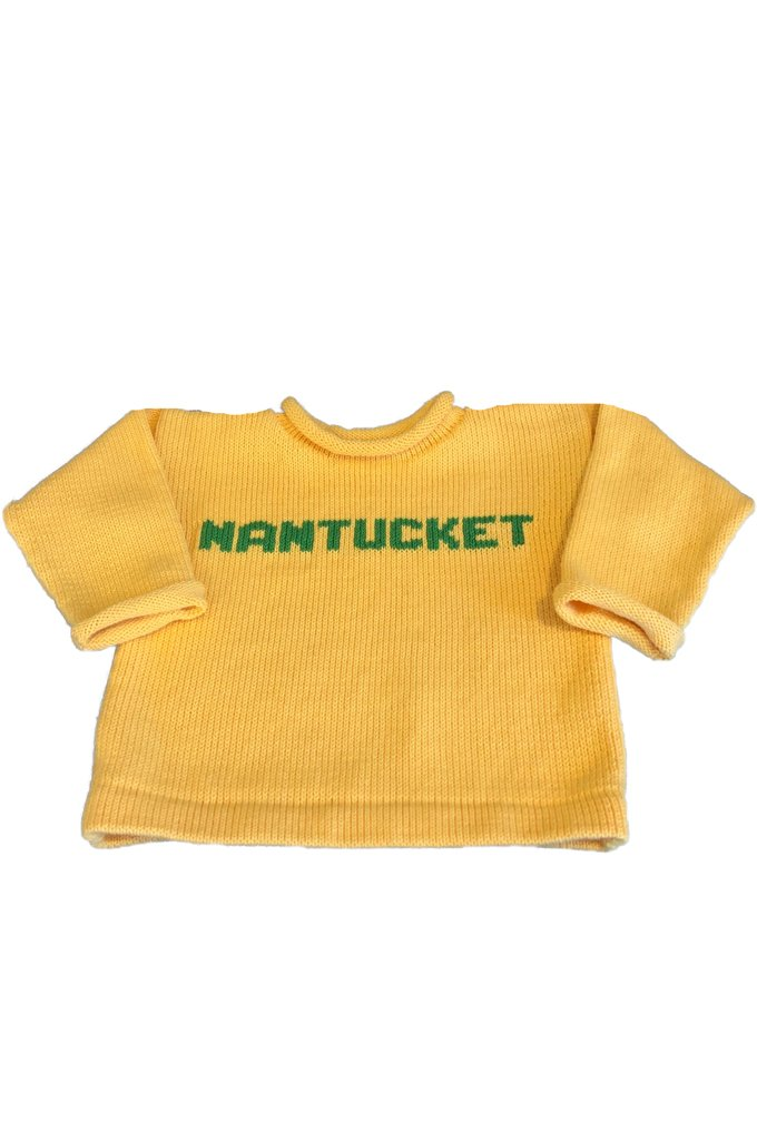 Yellow Nantucket Sweater