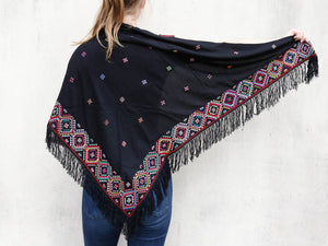 "Shawl ""Spider"" Triangle"