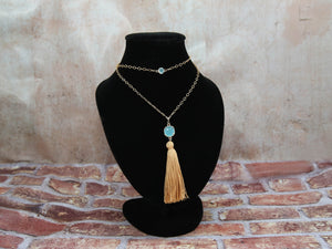 Necklace-Threads of Joy w/ Tassel