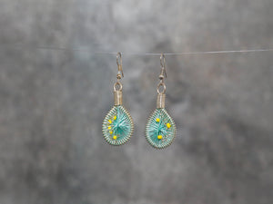 Earrings-Kitab 3x1.5cm