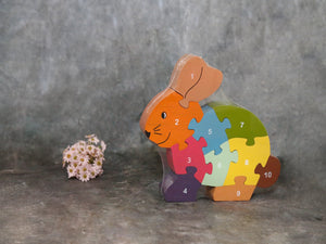 Puzzle Counting Rabbit