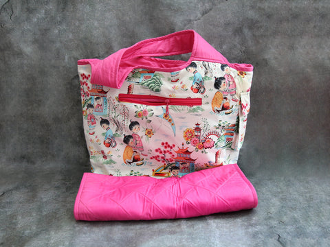 China girl diaper bag