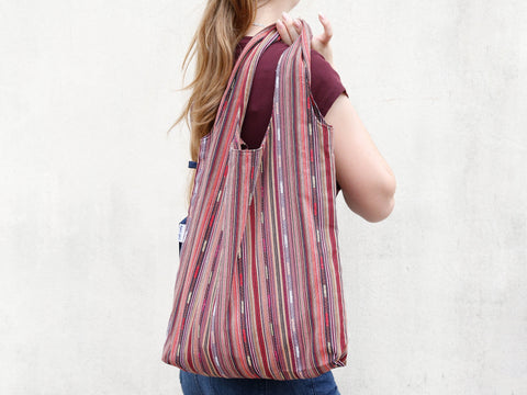 Soft sack/Shopping bag-Brn