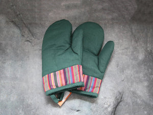 Oven Gloves (green)