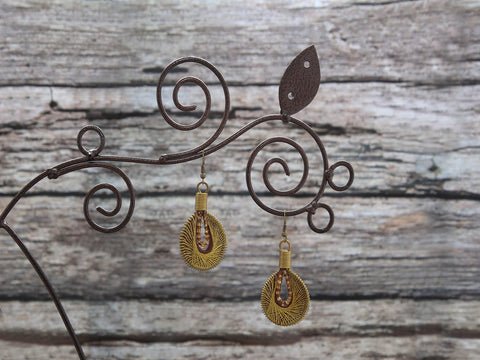 Earrings Yaman 2.5x4cm