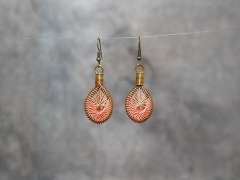 Earrings-CHANIA 3x1.5cm