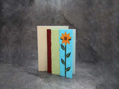 Card-Single Flower