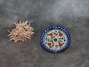 Decorative Plate w/flowers