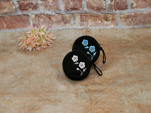 Coin Bag Classic Flower Drum