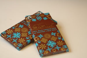 Milk Chocolate w/Toffee & Sea Salt