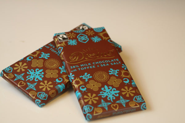 Milk Chocolate Toffee&Sea Salt 90g