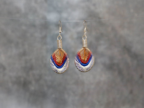 Earrings-Sands of 4x2.5cm