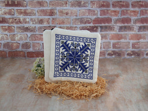 Pot Holder set - Hebron (Blue)