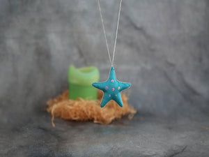 Ornament - Aqua Star