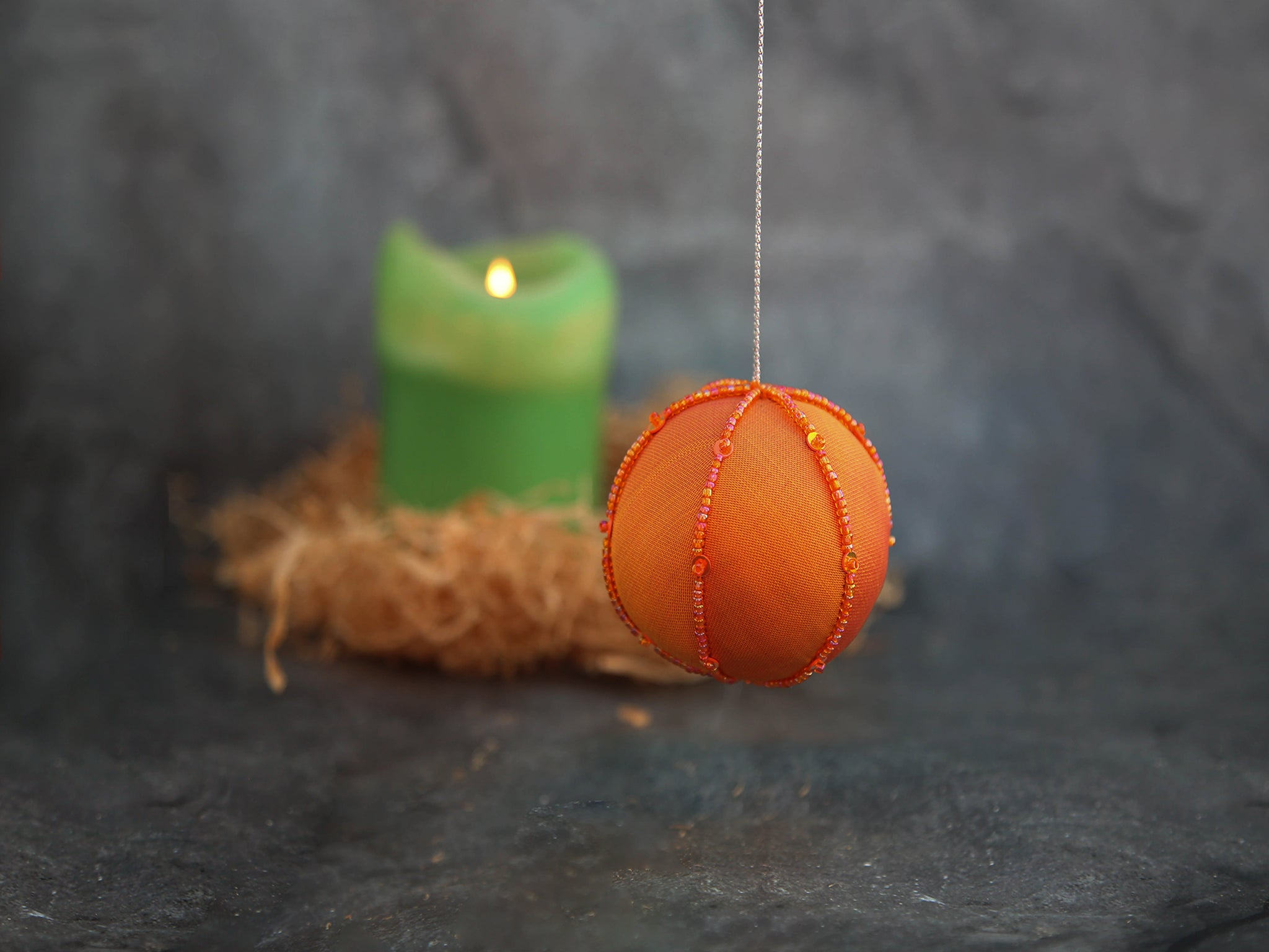 Ornament - Orange Ball