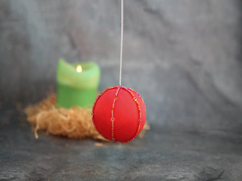 Ornament - Red Ball