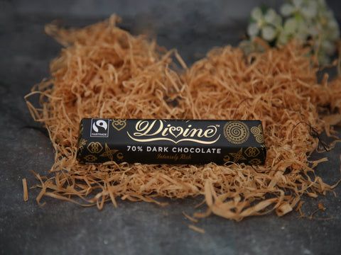 Divine 70% Dark Chocolate 35g
