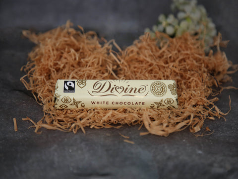 Divine White Chocolate 35g