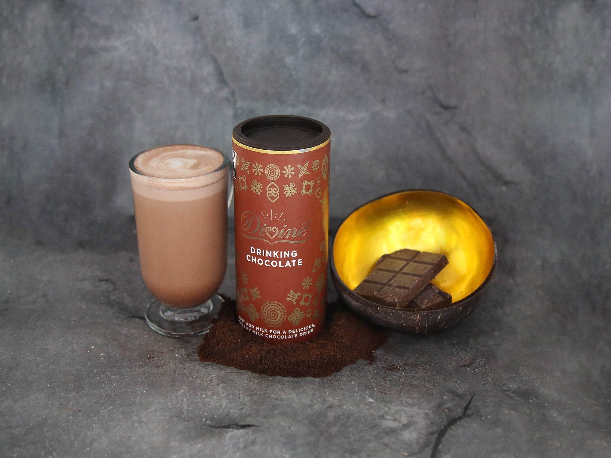 Divine Drinking Chocolate (400g)