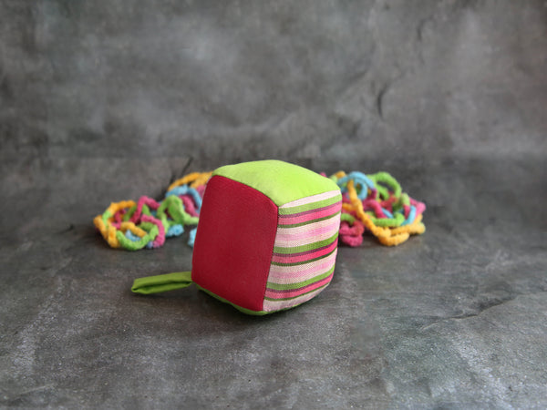 Soft Cube Rattle