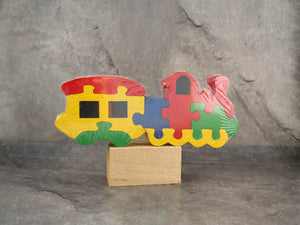 Jigsaw Puzzle-Train