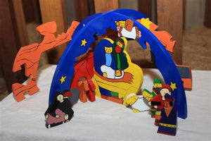 Nativity 3D round Puzzle