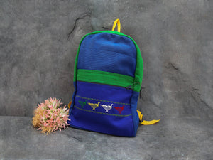 Child Back Pack-Bird-Royal Blue