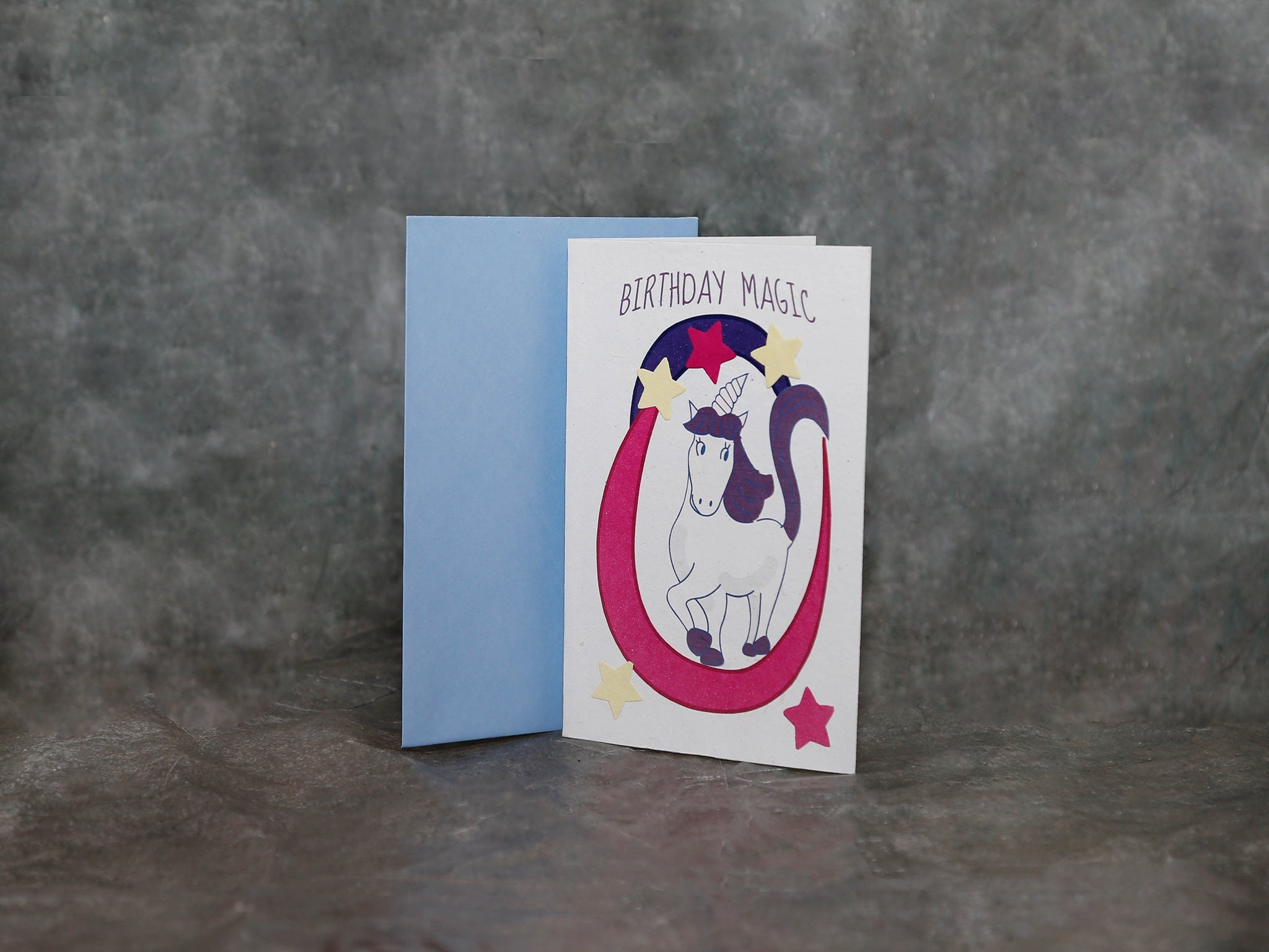 Card Unicorn Birthday