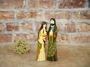 Nativity Golden Holy Family