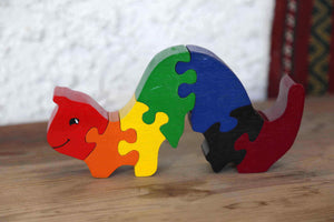 Small Caterpillar Jigsaw Puzzle