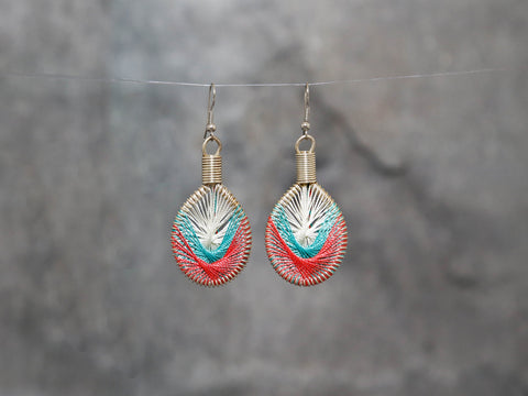 Earrings-Shore 4x2.5cm