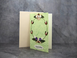 CardBirthday' Garland Green