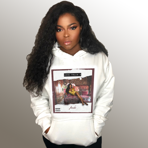 Love Train 2 White Hoodie + Digital Album