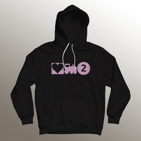 Love Train 2 Black Hoodie + Digital Album