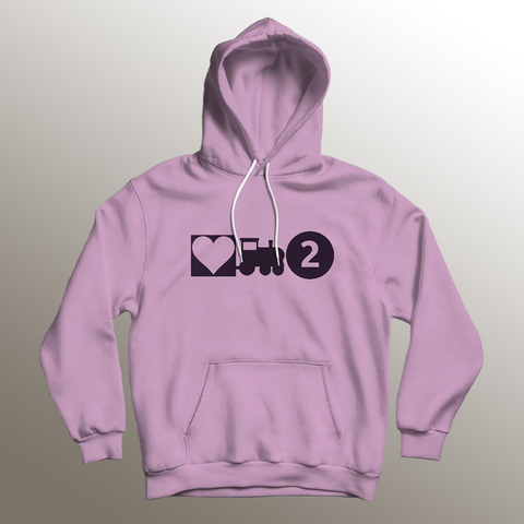 Love Train 2 Light Pink Hoodie + Digital Album