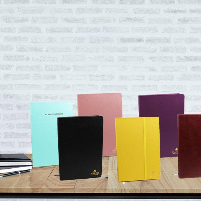 Leather Travel Journal - A5 (Assorted Colours)