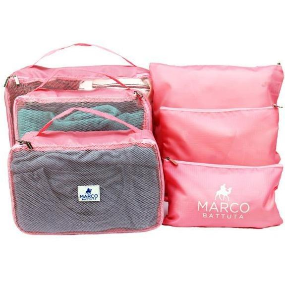 Packing Cube 6 piece - Candy Pink