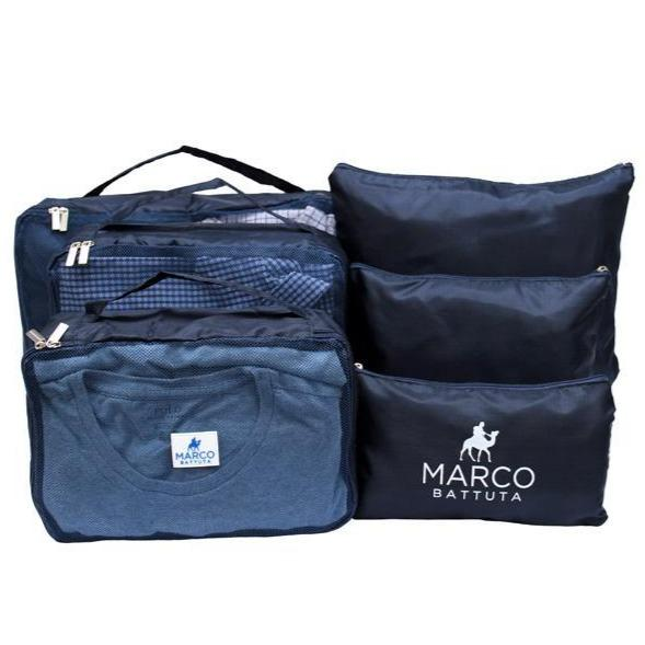 Packing Cube 6 piece - Navy Blue