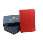 genuine-leather-travel-journal Imperial Red (Saffiano)