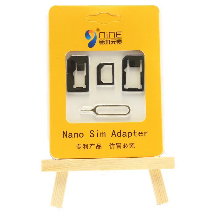 Sim card Adapter Kit 4in1