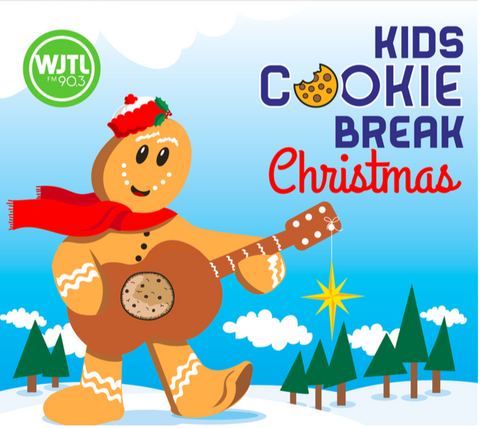 Kids Cookie Break Christmas CD