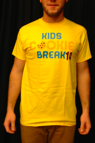 Kids Cookie Break Fest 2014 T-shirt *Out of Stock*