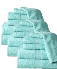 Quick Dry Elegance Spa Cotton Ribbed 6-piece Towel Set